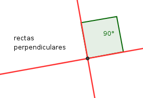 Resultado de imagen de RECTAS PERPENDICULARES